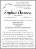Sophia Hansen