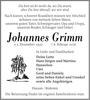 Johannes Grimm