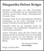 Margaretha Helene Krüger