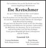 Ilse Kretschmer