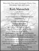 Ruth Matuschek