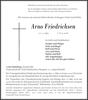 Arno Friedrichsen