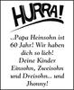 Papa Heinsohn ist