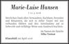Marie-Luise Hansen