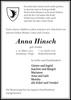 Anna Hinsch geb. Dudda