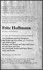 Fritz Hoffmann