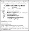 Christa Klamrzynski