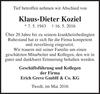 Klaus-Dieter Koziel