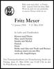 Fritz Meyer