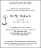 Wally Raksch