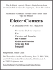 Dieter Clemens