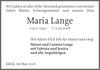 Maria Lange