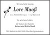 Lore Maaß