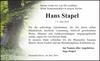 Hans Stapel