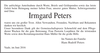 Irmgard Peters