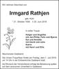 Irmgard Rathjen