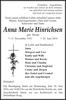 Anna Marie Hinrichsen