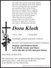 Dora Kloth