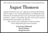 August Thomsen