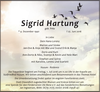 Sigrid Hartung geb. Fritz