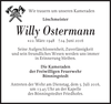 Willy Ostermann