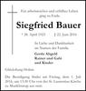 Siegfried Bauer