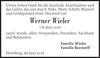 Werner Wieler