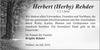 Herbert Herby Rehder
