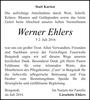 Werner Ehlers