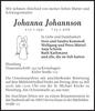 Johanna Johannson