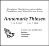 Annemarie Thiesen