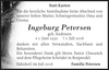 Ingeburg Petersen