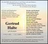 Gertrud Halte