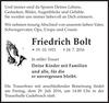 Friedrich Bolt