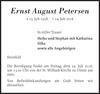 Ernst August Petersen