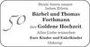 Bärbel und Thomas Forthmann Goldene