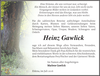 Heinz Gawlick