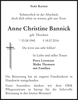 Anne Christine Bannick