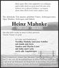 Heinz Mahnke