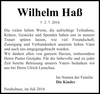 Wilhelm Haß