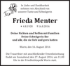 Frieda Menter