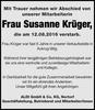 Frau Susanne Krüger