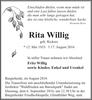 Rita Wittig geb. Rickers
