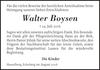 Walter Boysen