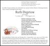 Ruth Degetow