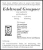 Edeltraud Greupner