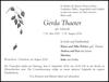Gerda Thaeter geb. Soltwedel