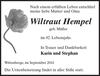 Wiltraut Hempel