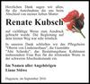 Renate Kubsch