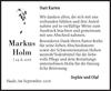 Markus Holm